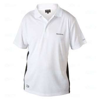 Футболка Daiwa Polo Shirts White L