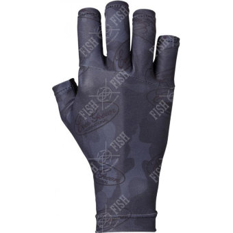 Перчатки EG UV CUT GLOVE L Black Camo