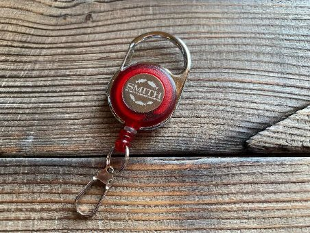 Ретривер Carabiner Reel Smith (Red)