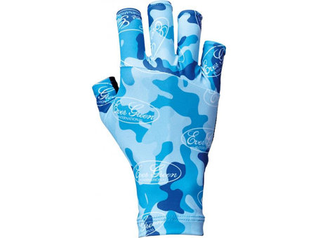 Перчатки EG UV CUT GLOVE L Blue Camo
