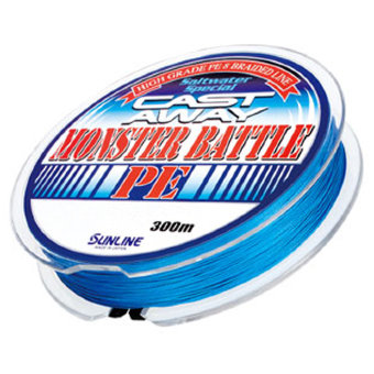 Шнур Sunline Monster Battle PE 300m 100LB/#8