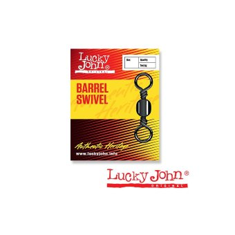 Вертлюги Lucky John BARREL SWIVEL 014 10шт.5006-014
