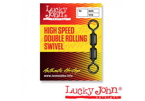 Вертлюги Lucky John HIGT SPEED DOUBLE ROLLING 010 5шт. 5067-010