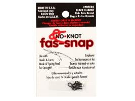 Застежка Kipper No-Knot Fast-Snap Black X Large
