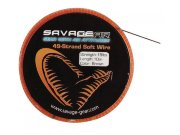 Материал для поводков Savage Gear TITANIUM SINGLE STRAND WIRE 5м 20кг