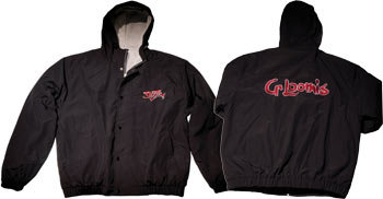 "G.LOOMIS Жакет Black Hooded ""Turnament"" (size M)  (55883-01)"